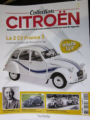 Fascicule 1   Collection Citroen 1/24 2Cv France 3