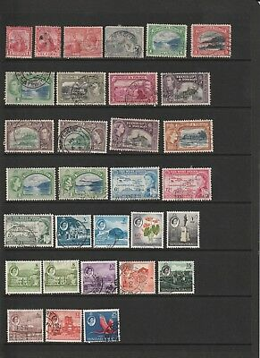 Trinidad and Tobago - Wide Ranging Stamp Selection  2 SCANS (1245)