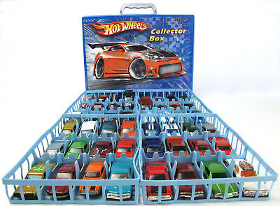 HOT WHEELS Collector BOX Auto-Koffer 48 Muscle Car FORD Chevy MERCURY Hot Rod V8