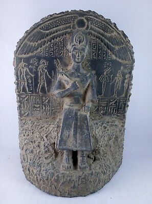 RARE ANCIENT EGYPTIAN ANTIQUE Egypt Pharaoh Wall King Ramses Il Statue 1279 Bce