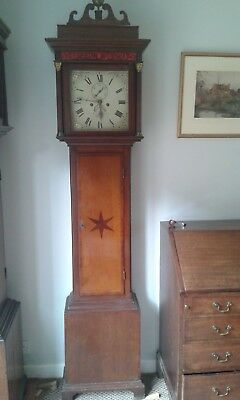 Grandfather / Longcase clock , 8 day, Summerhayes, Illminster, Somerset, c1820
