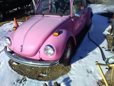 1973 Volkswagen Beetle - Classic  1973 Super Beetle with rare automatic transmission