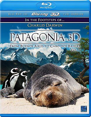 Patagonia (3D + 2D Blu-ray, 2 Discs, Region Free) *NEW/SEALED*