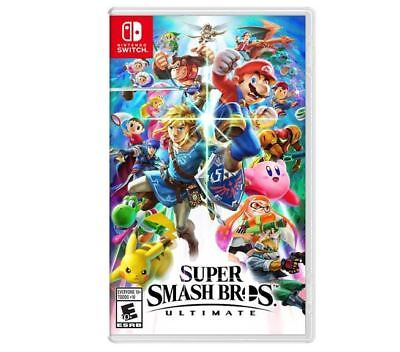 Super Smash Bros. Ultimate - Nintendo Switch (USA Version)