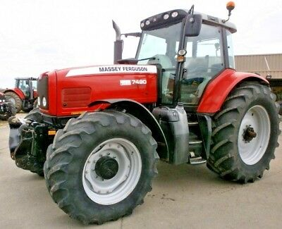 Massey Ferguson 7400 Series Tractor Service Repair Manual