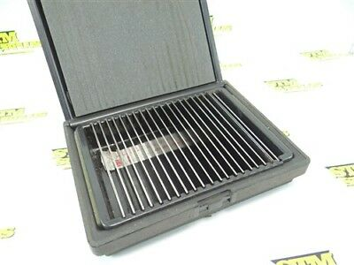 """Set Of Precision Ultra Thin Parallels Made In Usa 1/2"""" To 1-5/8"""""""