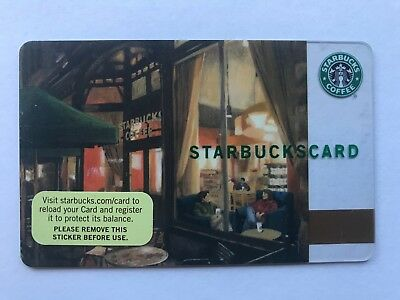 2007 Starbucks Gift Card Twilight Pikes Place Unused Pin Intact No Value 6034