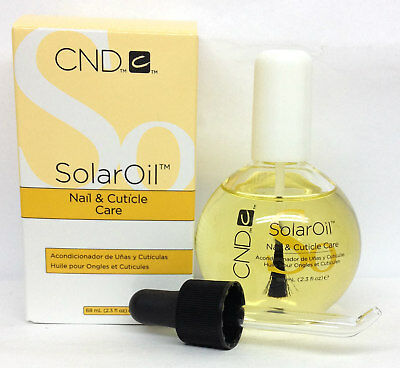 CND Solar Oil 2.3oz/68ml- Nail & Cuticle Conditioner- BIG SALE