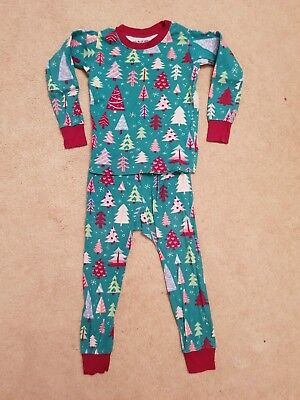 Great *Little Blue House Hatley* organic cotton girls pyjamas *1-2yrs 12-24mth*