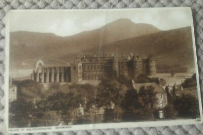 Vintage Scottish Postcard Palace Of Holyroodhouse,  Edinburgh