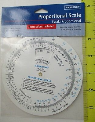Proportional Scale Staedtler