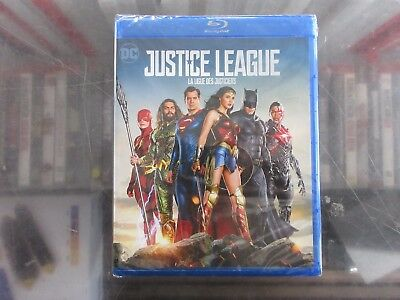 BRAND NEW Justice League [Blu-Ray + DVD + Digital]