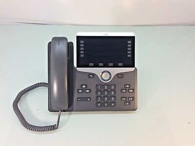 Cisco CP-8841 IP Phone w/ Handset and Stand
