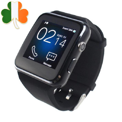Bluetooth Smart Watch X6 Pedometer Fitness Activity Tracker SIM Slot for Android