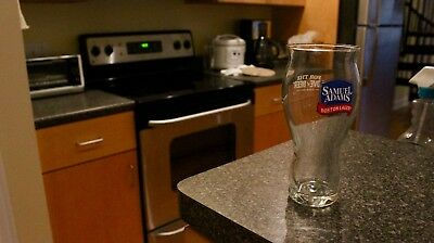 """NEW SAMUEL """"SAM"""" ADAMS BEER 16 oz PINT GLASS 'For the Love of Beer' Party"""