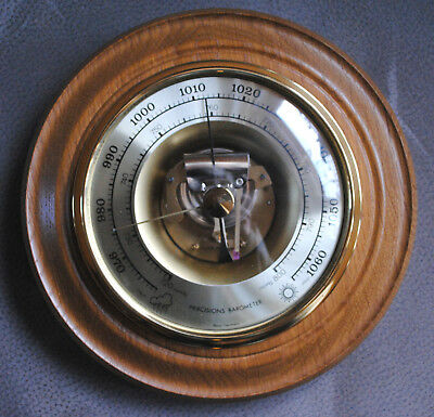 Wetterstation Barometer, Präcisions Barometer, West-Germany // 25,3 cm Durchmess