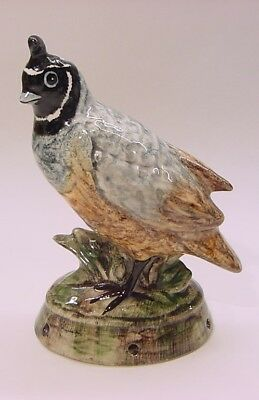 ENGLAND, Exceptional QUAIL Pie Bird Vent Lownds-Pateman Babbacombe Pottery