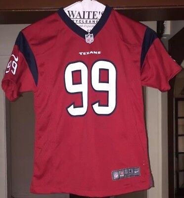Nike Youth Boys Alternate Game Jersey Houston Texans J.J. Watt  99 MEDIUM  10 12 17b6ecb74