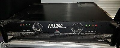 Interm M-1000 power amplifier 1000W stereo 2RU amp
