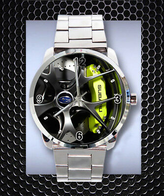 Watches, Parts & Accessories Chrysler 300s Wheel On Sport Metal Watch Low Price Other Watches Smart Mint Rare !!
