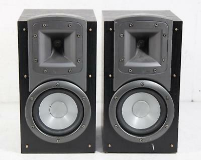 2 Klipsch Synergy B2 B2SBBK Audiophile Bookshelf Speakers Pair