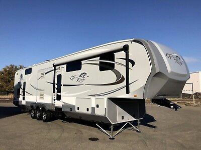 2012 Open Road Rolling Thunder 397Rgr 5Th Wheel Toy Hauler Trailer Rv  Raptor