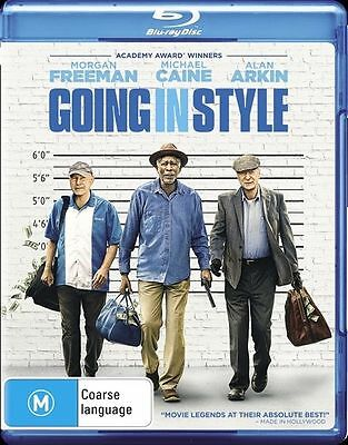Going In Style (Blu-ray, 2017)