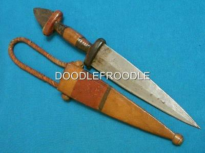 Antique African Arm Dirk Dagger Stiletto Hunting Bowie Knife Knives Vintage Old