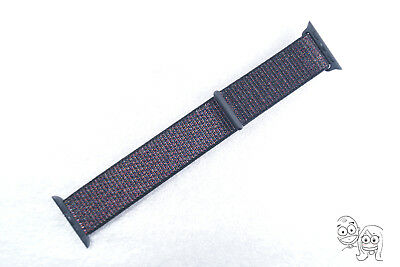 Authentic Apple Watch Sport Loop Band (38mm/ 40mm, Black) - MQVX2AM/A