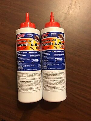 Pic Orthoboric Boric Acid Roach Ant Killer 5oz Bottle 5 50 Picclick