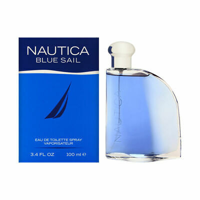Blue Sail by Nautica for Men 3.4 oz Eau de Toilette Spray Brand New