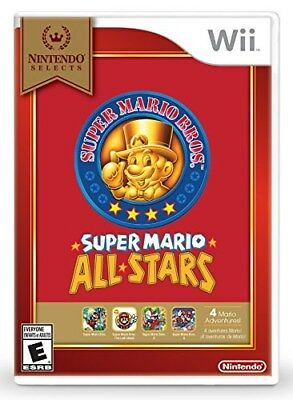 Nintendo Wii Game Super Mario All Stars Nintendo Selects