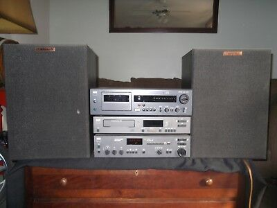NAD Electronics Stereo Tuner w/ Klipsch Speakers * Tested *  7240