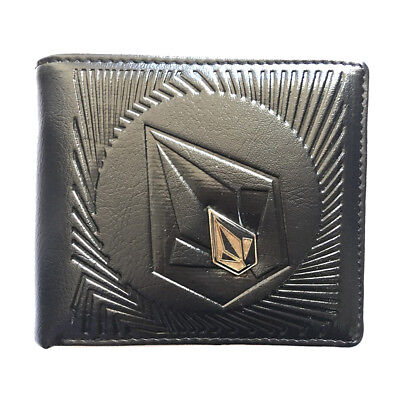 New with Box Volcom Men's Surf Synthetic Leather Wallet  Xmas Gift #241