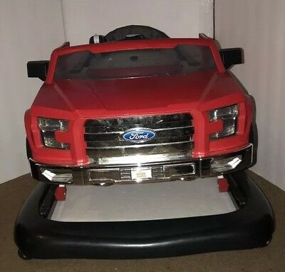 3 Ways To Play Ford F 150 Walker Red Bright Starts Baby Exerciser Adjustable