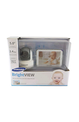 Samsung SEW-3043W Wisenet BrightVIEW HD Baby Video Monitoring System New