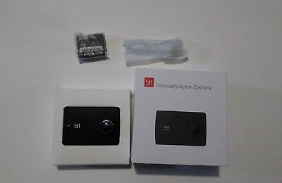 """YI Discovery Action Camera, 4K with 2.0"""" Touchscreen New open box/never used"""