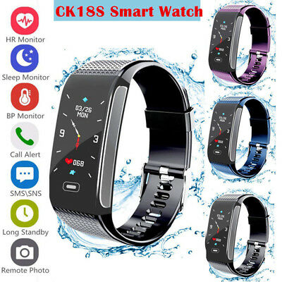 Smart Watch Heart Rate Monitor For IOS & Android Fitness Tracker Activity Women