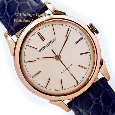Jaeger-Lecoultre Cal.476 Automatic, 18Ct Pink Gold, 1948, Oversize - Immaculate!