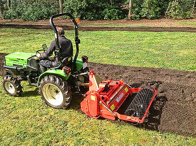 WSB105 - Winton Heavy Duty Stone Burier - 1.05m Wide - For Compact Tractors