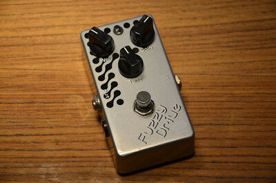 E.W.S. Fuzzy Drive Overdrive/Fuzz-Pedal, True Bypass, Op-Amp, made in Japan