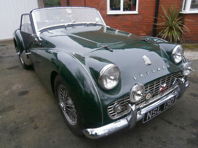 Triumph TR3A  1960 41,000 miles  Full body off restoration by specialist