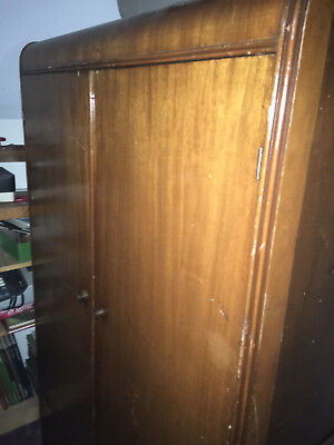 Waterfall Chifferobe Armoire Cedar Lined Wardrobe