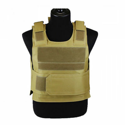 Lightweight Discreet Armor Plate Carrier Tactical SWAT For Police Molle Vest
