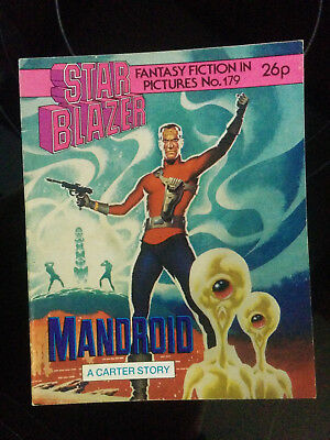 """Starblazer #179 """"MANDROID"""" published by DC Thomson"""