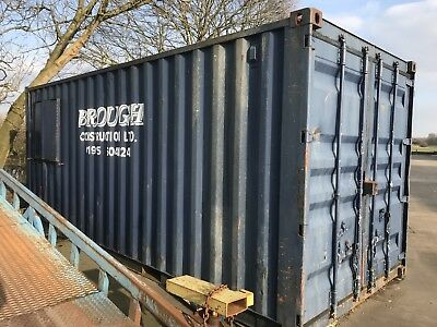 20ft Shipping Container   Site Office and Store  £3,800.00