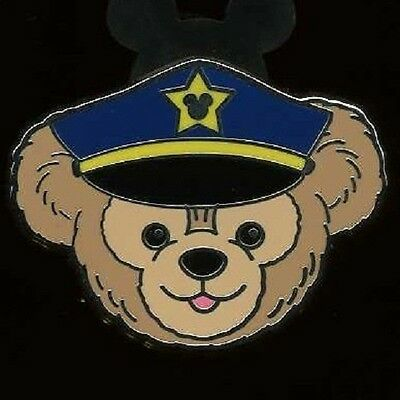 Disney Occupations Duffy the Disney Bear as a Police Officer or Cop Pin