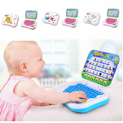 US Kids Children Computer Laptop Educational Learning Toys Gift For Boys Girls