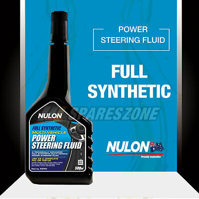 Nulon Full Synthetic Power Steering Fluid 500ML For MITSUBISHI Magna
