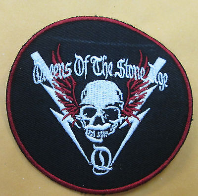 Queens Of The Stone Age Collectable Rare Vintage Patch Embroided Mid 2000's